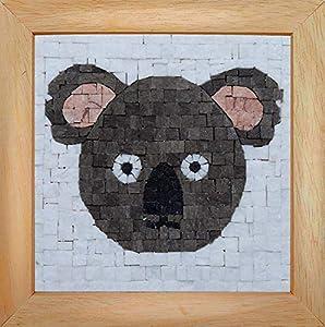 Trois petits points Mosaic Box Koala Face-GEANT, 6192459602516, Universal