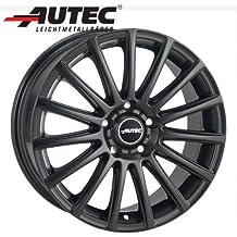 Aluminio Llanta autec Fanatic Ford Focus RS DA3, DA3de RS 7.5x 17negro mate