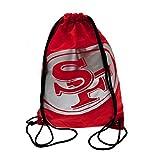 San Francisco 49ers NFL Sportbeutel Beutel Bag Sporttasche Sport Bag Zaino Gym
