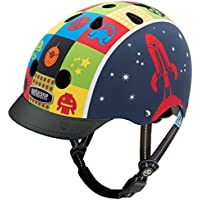 Nutcase Little Nutty, Casco da bici per bambini, Multicolore (Space Cadet), XS (48-52 cm)