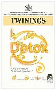 Twinings Blended as Morning Detox Tea Bags 40 g (20 Tea Bags) Pack of 4