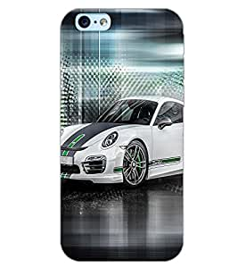 PrintDhaba CONCEPT CAR D-7068 Back Case Cover for APPLE IPHONE 6 PLUS (Multi-Coloured)