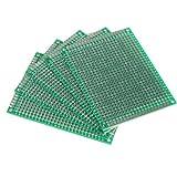 Prototipazione BIADESIVO SCHEDA PCB 5 CM x 7 cm confezione da 1 o 5 TAVOLE