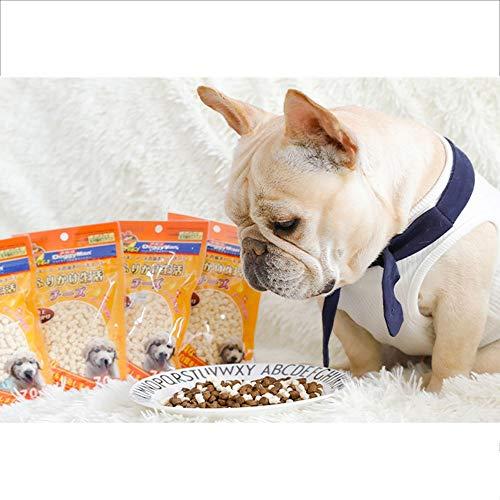 Fighrh Hundesnacks Japan Multi-Gold Käse Hundesnacks Hauptfutter Begleiter Kalzium Bibimbap-Methode Hundesnacks Mahlen von Käsekörnern (Kostüm Zelle Die)