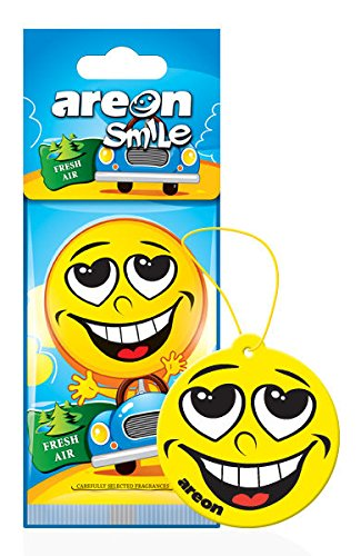 Areon Smile design appeso deodorante per auto Fresh Air (confezione da 5)
