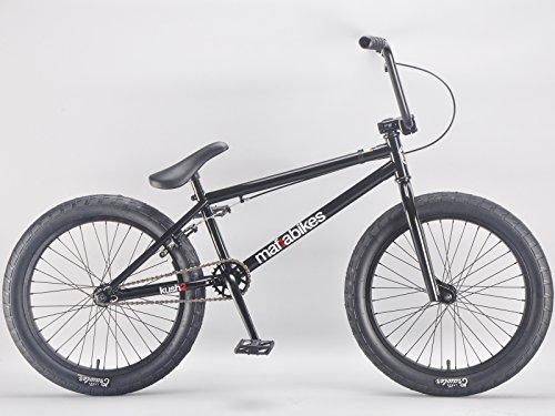 20 Zoll mafiabikes BMX Bike Kush 2.0 viele Farben KUSH2, Farbe:Schwarz