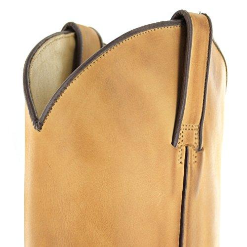 Tony mora westernstiefel 2051-j classic cowboystiefel (différents coloris) Beige - Graso Gacela