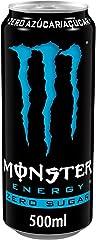 MONSTER ENERGY Zero Sugar - Bebida energética sin azúcar - lata 500 ml