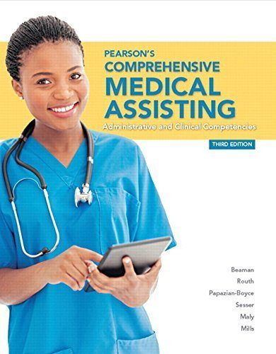 Pearson's Comprehensive Medical Assisting Plus MyHealthProfessionsLab with Pearson etext--Access Card Package (3rd Edition) (MyHealthProfessionsLab Series) by Nina M. Beaman MS RNC CMA (2015-02-01)