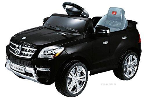 Mercedes-Benz ML 350 SUV Schwarz Jeep Lizenz Kinderauto Kinderfahrzeug