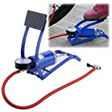 #9: New Imported Portable High Pressure Foot Air Pump Heavy Compressor Cylinder Bike,Car,Cycles, Ball