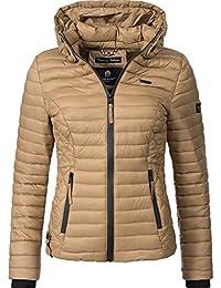 Marikoo Samtpfote, veste matelassée pour dame mi-saison 15 Couleurs ... 6893bba7865