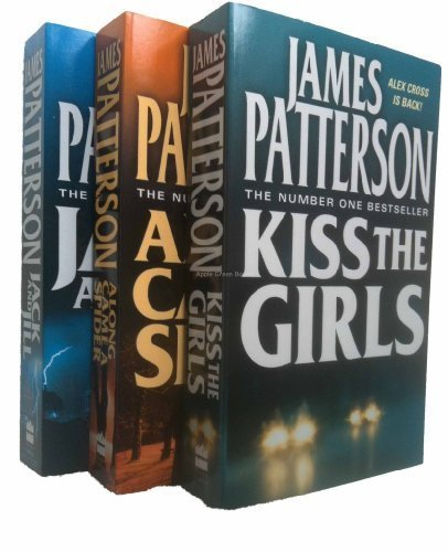 James Patterson Alex Cross 3 book Pack – Alex Cross Books 1, 2, 3 (Along Came a Spider / Kiss the Girls / Jack and Jill rrp £23.97)