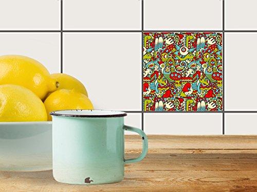 fliesenfolie-selbstklebend-10x10-cm-1x1-design-monster-doodle-muster-ornamente-klebefolie-kuche-bad