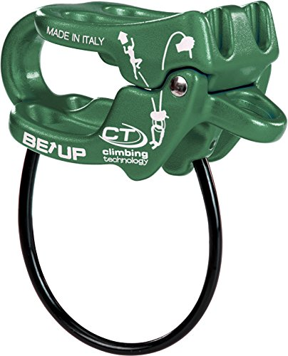 Climbing technology be-up 2d657a5s1ct0std assicuratore, verde, taglia unica