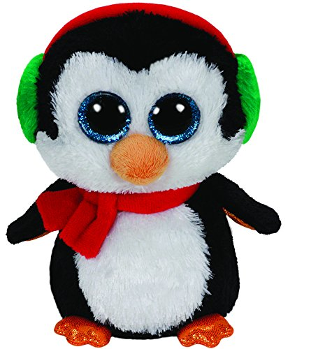 Beanie Boo Christmas Penguin - North - 15cm 6""