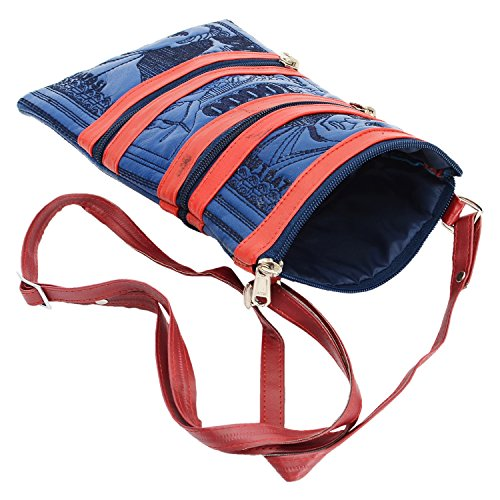 Bagaholics Girls sling bag Ladies Cross Body Women side bag Purse Gift – Blue