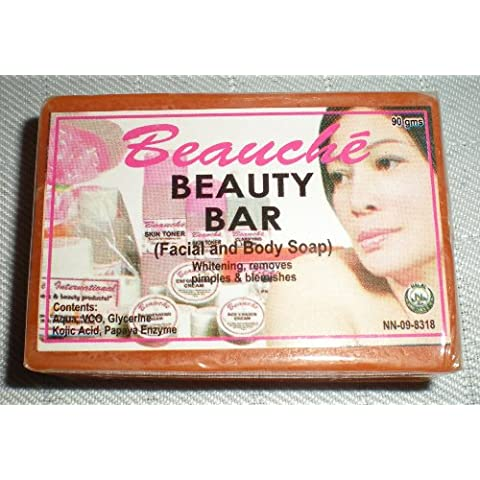 Beauchè Beauty Bar Kojic Acid and Papaya
