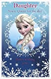La Reine des neiges Fille Pop Up Carte d'anniversaire
