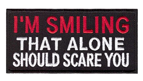 i-am-smiling-that-alone-should-scare-you-outlaw-mc-biker-jacket-vest-patch-iron-on-parche-motero-bor