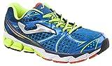 JOMA Victory, Zapatillas de Running para Hombre, Azul (Royal-Fluor), 41 EU