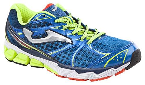 JOMA Victory, Zapatillas de Running para Hombre, Azul (Royal-Fluor), 4