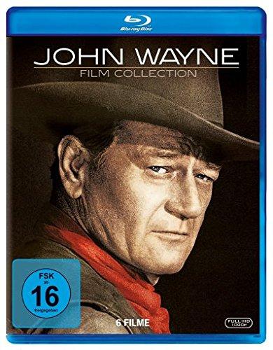 John Wayne Collection ( Die Comancheros / Land der Tausend Abenteuer / Die Unbesiegten / Der längste Tag / Der letzte Befehl / Red River ) - Western John Wayne Collection