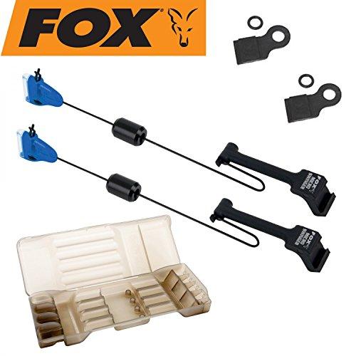 Fox Micro Swinger Détecteur–pedel TMC pour pêche à la carpe, couleurs au choix: Bleu, Vert, Orange, Rouge ou Noir, verschiebbares Poids & Montage facile. vert