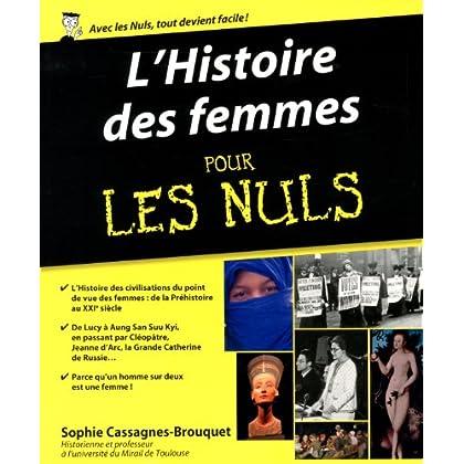 Histoire des femmes Pour les Nuls