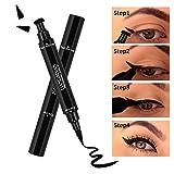 Eyeliner Wasserfest, leegoal Liquid Eye Liner Pen mit Wischfest, Winged Lange Anhaltende für Augen-Make-up