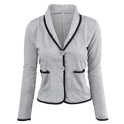 BHYDRY Damen Mode Business Mantel Blazer-Anzug Langarmshirts