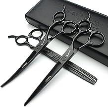 7 pulgadas de alta calidad japonesa 440C peluquería profesional tijeras peluquería peluquería peluquería y tijeras de dilución