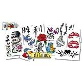 Tatuajes Temporales para niños - Set Clásico x14 Tattoos - Calcomanias Infantiles fabricadas en España - Tattoos para niños