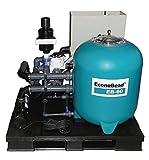 AquaForte EB60 Komplett-Set Filter Teich und Pool vormontiert auf Palette