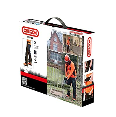 OREGON Universal Type A Chainsaw Safety Leggings/Seatless Trousers for Front Protection