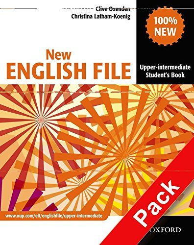 New English File: Upper-Intermediate: MultiPACK B: Six-level general English course for adults: MultiPACK B Upper-intermediate l by Clive Oxenden (2008-06-19)