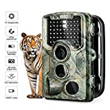 Enkeeo Wildkamera PH760 - Tierkamera 16MP 1080P Full HD Fotofalle 47pcs IR LEDs 20m Infrarote...