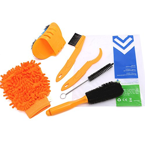 cymall-6-pieces-bicycle-chain-cleaner-cycling-clean-tire-brushes-tool-kits-set-compact-multipurpose-