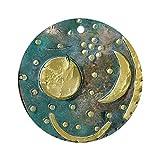 CafePress–Himmelsscheibe von Nebra Festplatte, Bronze Age –-rund Urlaub Weihnachten Ornament