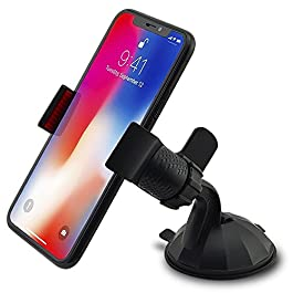 In Car Holder for Apple Iphone Xs / Xr / 8 / 7 / 7 Plus / 6s / 6 / 6 Plus / 5 / 4 / 4s / 3G / 3 and IPOD series 2018 Model Iphone X