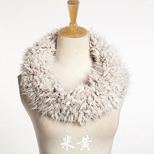 Schal Imitation Großer Kragen Kragen Bib Kragen Haar Wolle Nachahmung Wolle , polieren