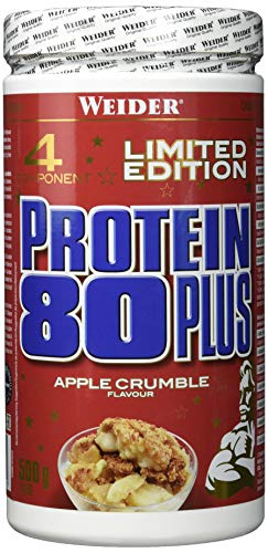 Weider 80 Plus Protein, Apple Crumble, Weihnachtsedition