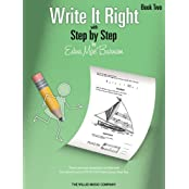 Edna Mae Burnam: Write It Right With Step By Step - Book 2