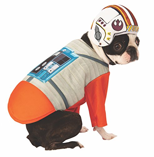 Star Wars Pet Kostüm - Rubie´s Star Wars X-Wing Pilot Pet Kostüm, X-Large