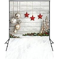 5x7ft(150*220cm) vinilo delgada de fondo la fotografía telón de fondo navidad navidad de fondo de vinilo fotografía XT-4338
