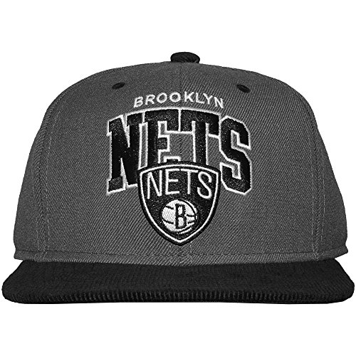 Mitchell And Ness - Casquette Snapback Homme Brooklyn Nets Scholar - Black