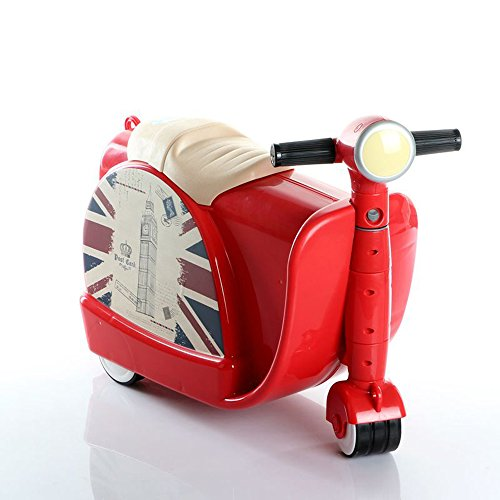 Bolso de la carretilla de infantil caja de almacenamiento de juguetes juguete maleta puede ser paseo para niños de 3-6 protección del medio ambiente plástico ABS , red