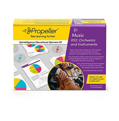 Propeller Bildung spkms4Spinner Kit, KS2, Orchester und Instrumente