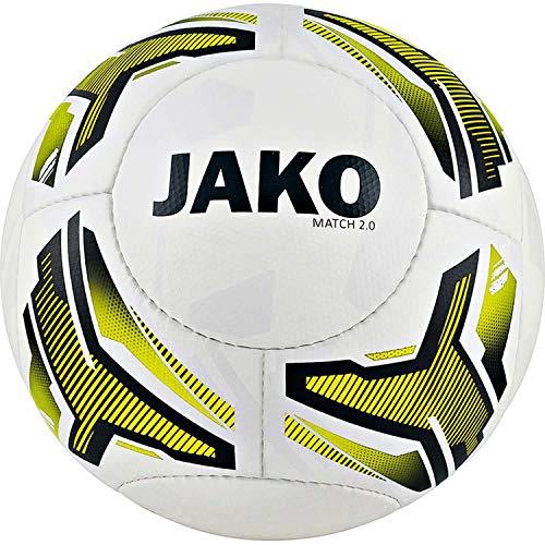 JAKO Match 2.0 Lightball - Balón de fútbol para niña