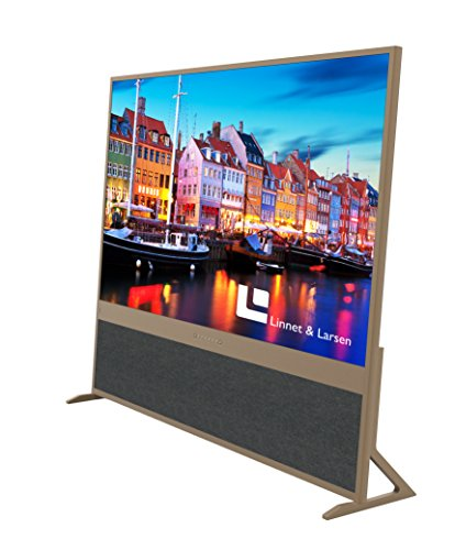 Linnet   Larsen Prestige 65-Inch Ultra HD 4K Resolution TV - Gold
